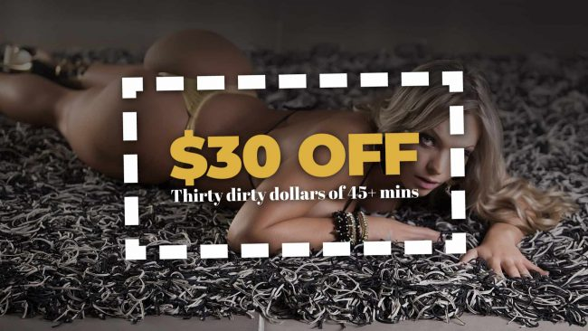 Dirty Thirty Dollar Discount For Members